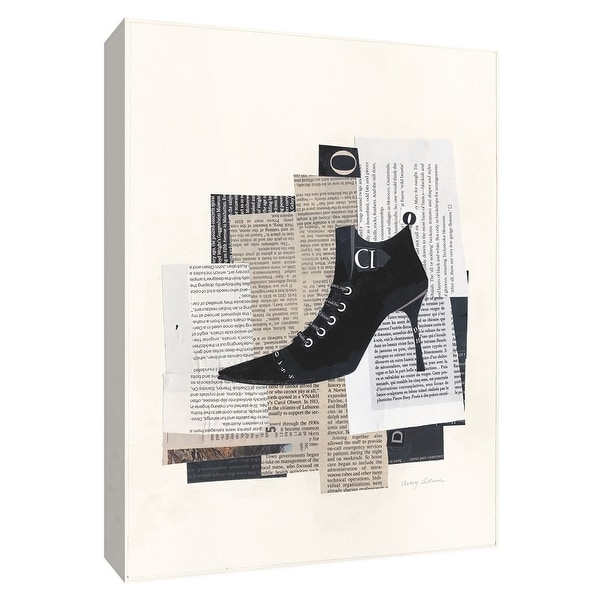 "PTM Images 9-154753 PTM Canvas Collection 10"" x 8"" - ""Step It Up IV"" Giclee Shoes Art Print on Canvas"