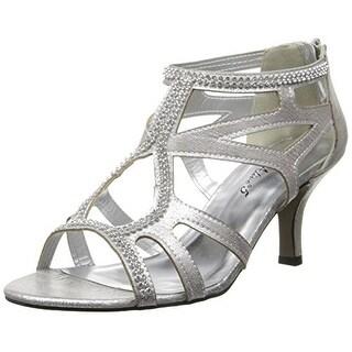 Easy Street Flattery Women's Strappy Heels