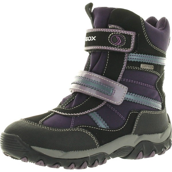 Geox Girls Alaska B Waterproof Winter Fashion All Weather Snow Boots