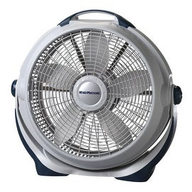 "Lasko 3300 Wind Machine Floor Fan, 20"", 3 Speed, Gray"