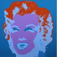 Marilyn Monroe #29 by Andy Warhol Portrait Art Print