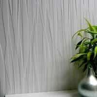 Brewster 437-RD80028 Folded Paper Paintable Textured Vinyl Wallpaper - N/A