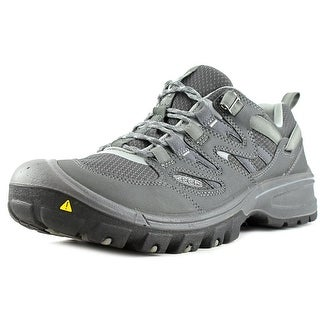 Keen Sandstone Men Round Toe Synthetic Gray Hiking Shoe