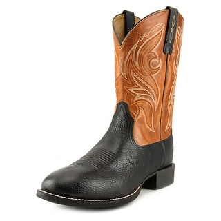 Ariat Heritage Cowpuncher Men Round Toe Leather Tan Western Boot