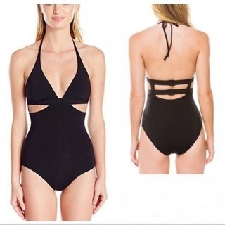 Anthropologie Seafolly Side Cutout One-Piece Swimsuit