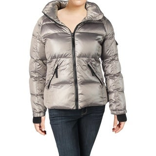 S13/NYC Womens Kylie Puffer Coat Winter Down