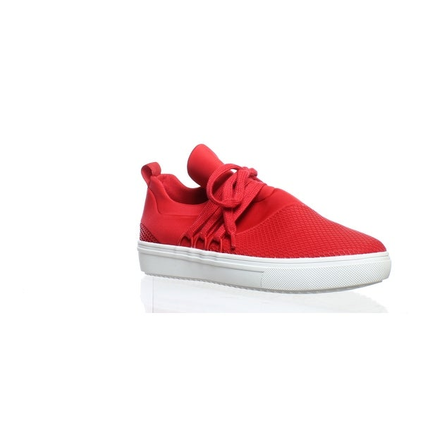 Lancer Red Fashion Sneaker Size 7.5