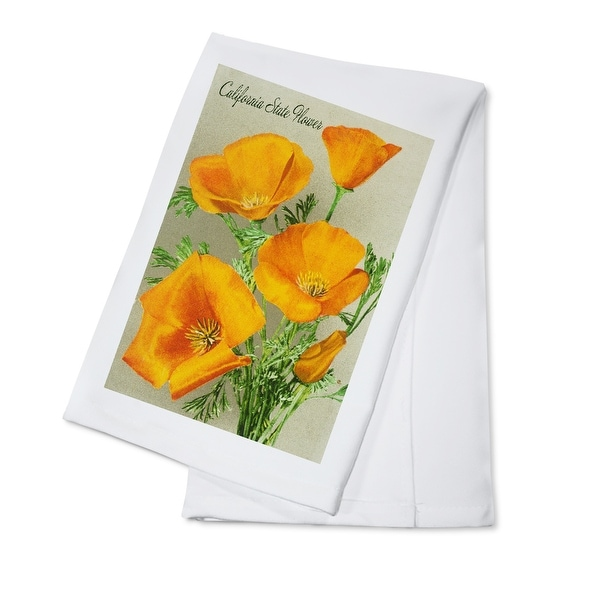 Shop california state flower poppy lp artwork 100 cotton towel california state flower poppy lp artwork 100 cotton towel absorbent mightylinksfo