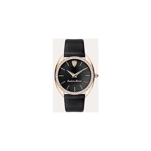 Black Ferrari Ladies Watch - One Size