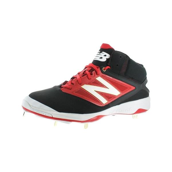 New Balance Mens Mid Cut 4040v3 Cleats Baseball Metallic Trim