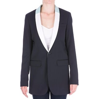 Each x Other Womens Wool Faux Inset Blazer