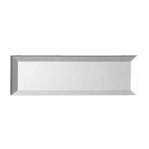 """Miseno MT-WHSFOB0312-ES Forever - 3"""" x 12"""" Rectangle Wall Tile - - Silver"""