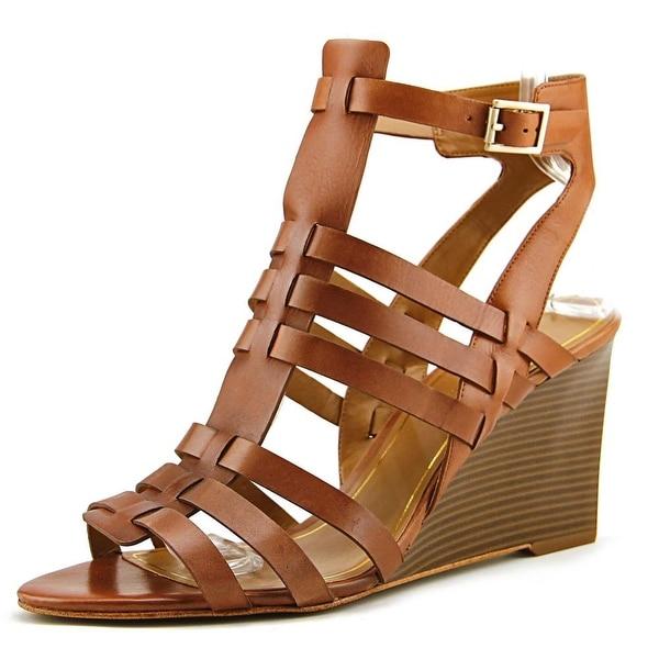 Enzo Angiolini Vanhi Brown Sandals