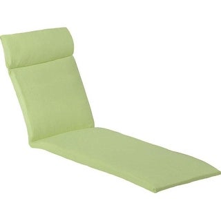 Hanover Outdoor ORLEANSCHSCUSH Orleans Chaise Lounge Cushion in Avocado Green