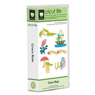 Cricut 2000928 Crocs Rule Cartridge