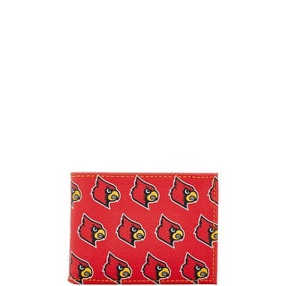Dooney & Bourke NCAA Louisville Credit Card Billford (Introduced by Dooney & Bourke at $68 in Jul 2015) - Red