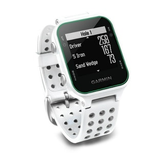 Garmin Approach S20 - White GPS-Enabled Golf Watch