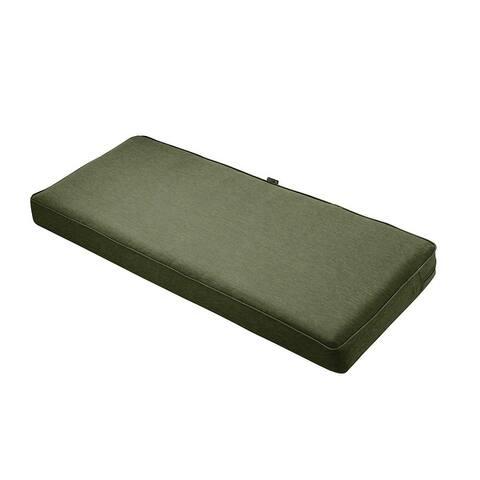 Montlake FadeSafe 48-inch Outdoor Patio Bench or Settee Cushion