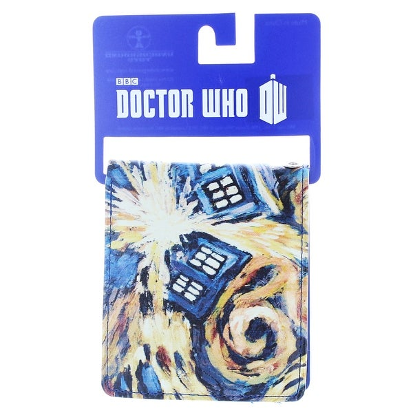 Doctor Who Bi-Fold Wallet Van Gogh Exploding TARDIS - Multi