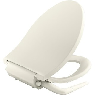 Kohler K-5724 Puretide Elongated Bidet Toilet Seat with Quiet-Close, Quick-Release and Quick-Attach