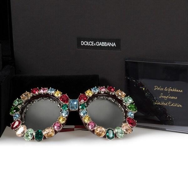 91d37b96d6b Shop Dolce   Gabbana Limited Edition Round Sunglasses DG4291B 18296G ...