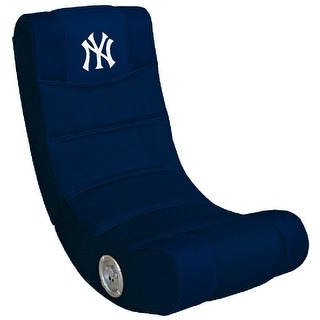 Video Gaming Chair W/Bluetooth - MLB- New York Yankees