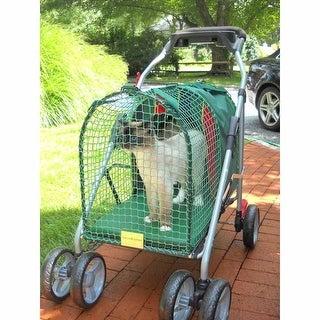 "Kittywalk Emerald Pet Stroller SUV Green 31 x 16 x 37.5"""