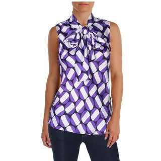Nine West Womens Camisole Top Satin Printed