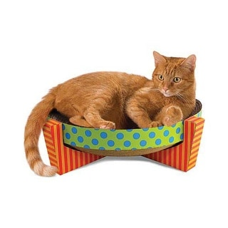 Petstages Snuggle Scratch and Rest Multi-colored