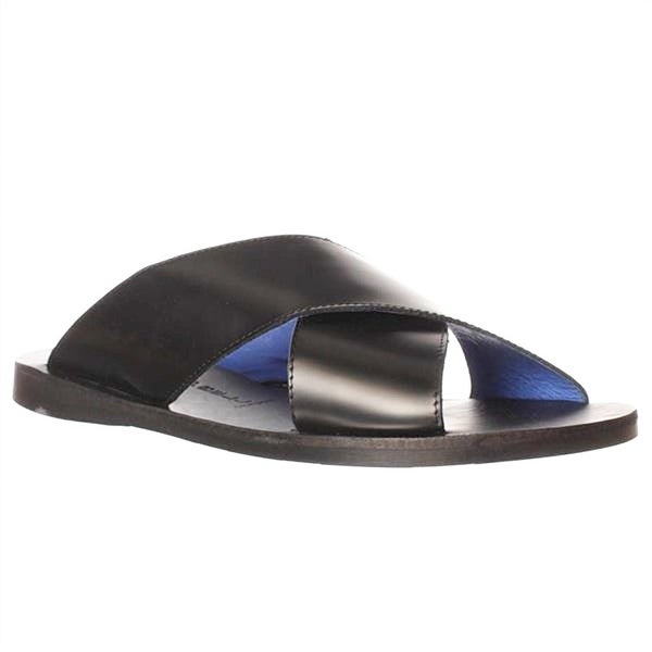 Jeffrey Campbell Caprese Slide Sandals - Black Box