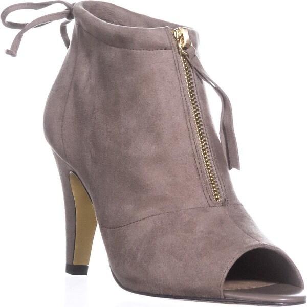 Bella Vita Nicky II Peep-Toe Ankle Boots, Stone - 9.5 us
