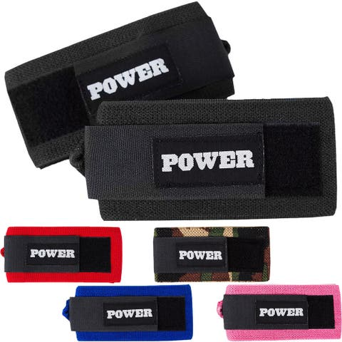 """Sling Shot Power Wrist Wraps by Mark Bell - 20"""" - IPF elastic lifting supports"""