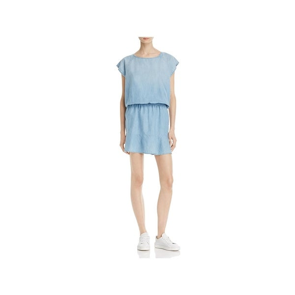 0625af3d34a Shop Soft Joie Womens Quora Casual Dress Chambray A-Line - Free ...