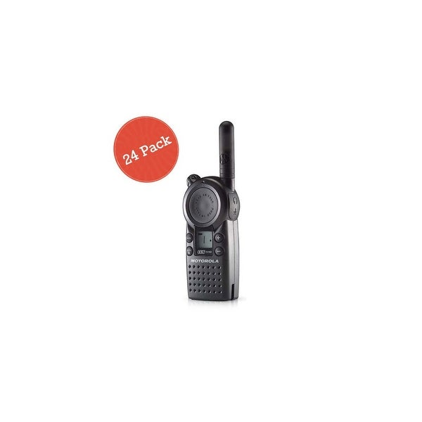 Motorola CLS1110 24 Pack Professional 2-Way Radio / 2 Mile Range