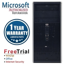 Refurbished HP Compaq DC5800 Tower Core 2 Duo E8400 3.0G 4G DDR2 160G DVD WIN 7 PRO 64 1 Year Warranty