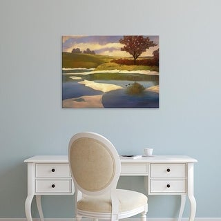 Easy Art Prints Graham Reynolds's 'Sandbanks II' Premium Canvas Art