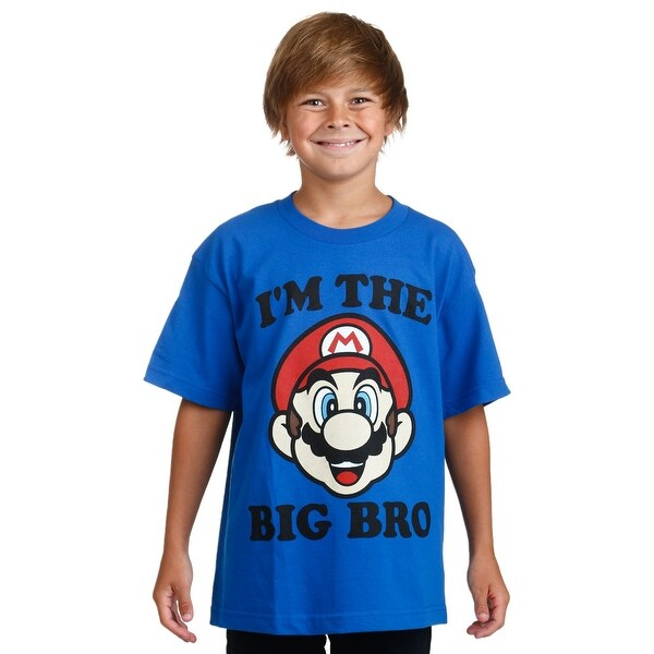 Mario I'm the Big Bro Boy's T-Shirt