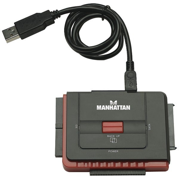 Manhattan 179195 Usb 2.0 To Sata/Ide Adapter