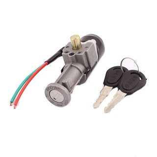 Unique Bargains Auto Motorbike Security Power Supply Ignition Switch Lock DC 60V Wired