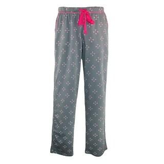 Hanes Women's Knit Print Pajama Lounge Pants