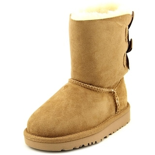 Ugg Australia Bailey Bow Round Toe Suede Winter Boot