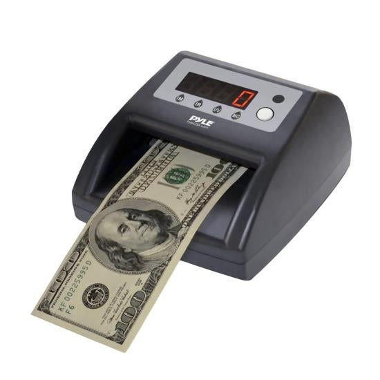 2-in-1 Bill Counter & Counterfeit Bill Detector