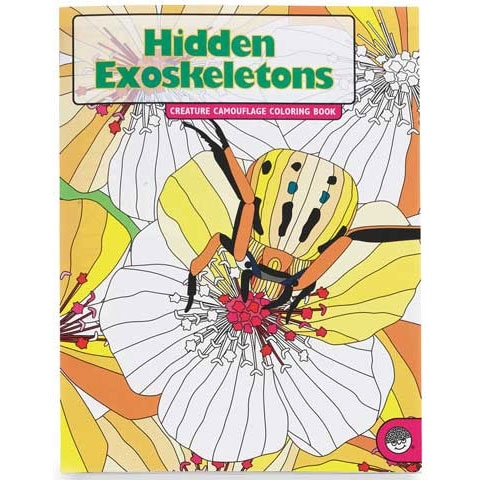 MindWare - Creature Camouflage Coloring Book - Hidden Feathers Coloring Book