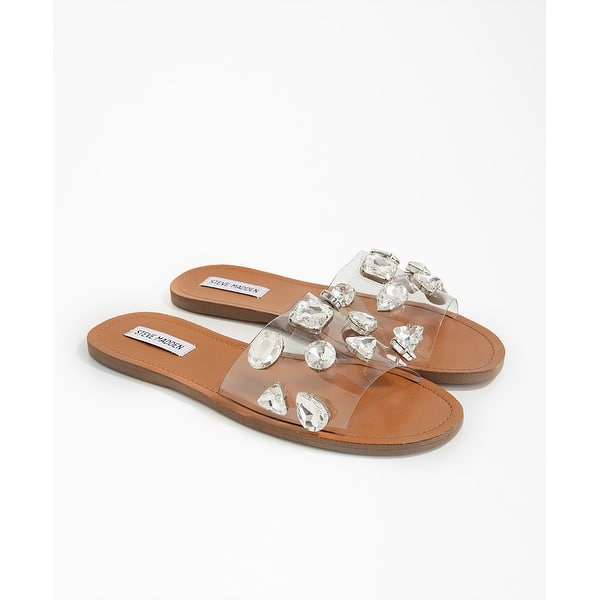 a5c59e83079 Shop Steve Madden Womens Rosalyn Open Toe Casual Slide Sandals - 6 ...