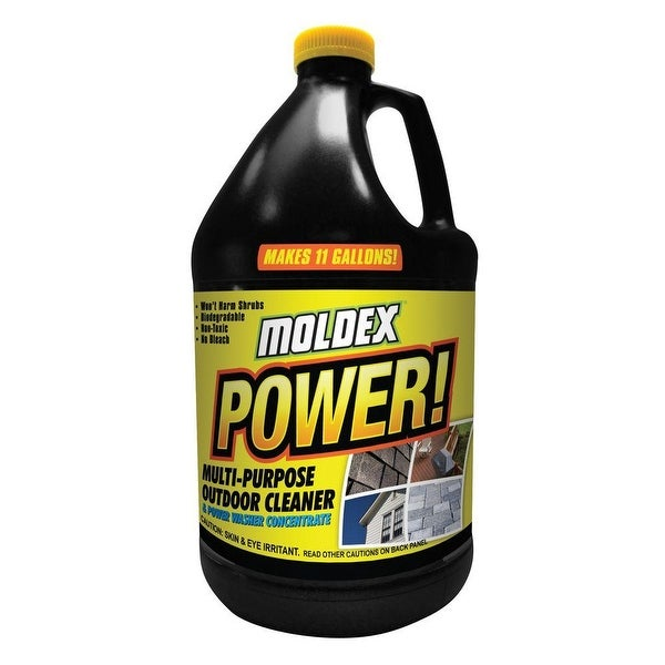 Shop Moldex Power 4040 Multi Purpose Outdoor Cleaner 1 Gallon Free Shipping On Orders Over 45 Overstock 14583780