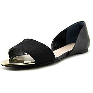 Alfani Womens Isszee Open Toe Slide Flats