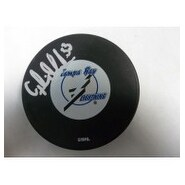 Signed Modin Fredrik Tampa Bay Lightning Tampa Bay Lightning Hockey Puck autographed