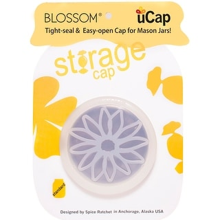 Blossom 16835 uCap Silicone Standard Sipping Cap, Blue