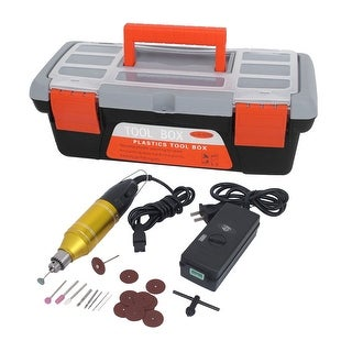 US Plug AC100-240V Electric Micro Drill Grinder Polish Disc Saw Tool Kit 23 in 1