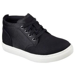Skechers 93849L BLK Boy's INTEGRO - WEXFORD Sneaker